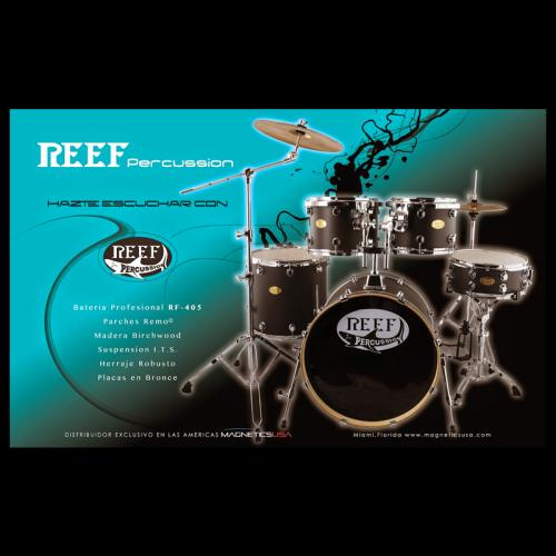 REEF PERCUTION ADVERTISEMENT