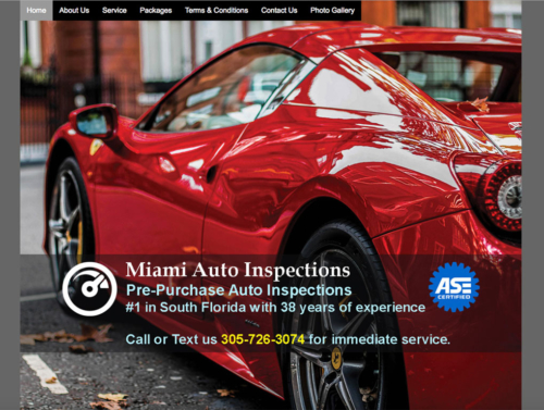 Miami Auto Inspections